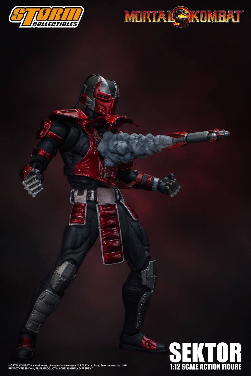"Sektor Enters the ""Mortal Kombat"" from Storm Collectibles"
