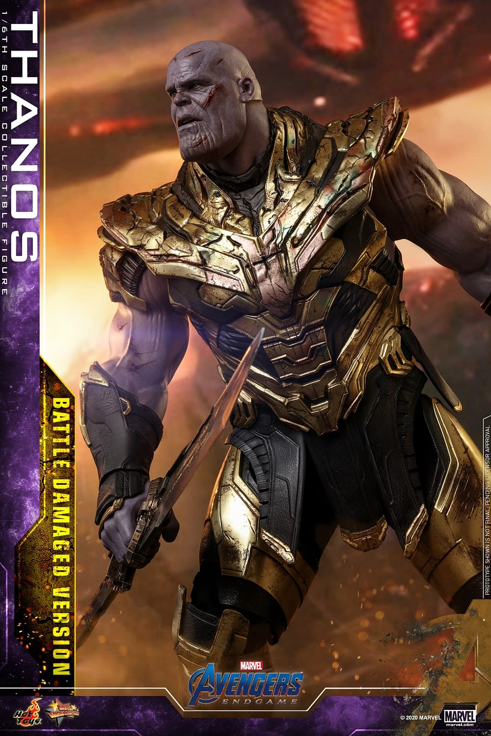 Thanos Returns to Hot Toys with New Battle Damaged Figure