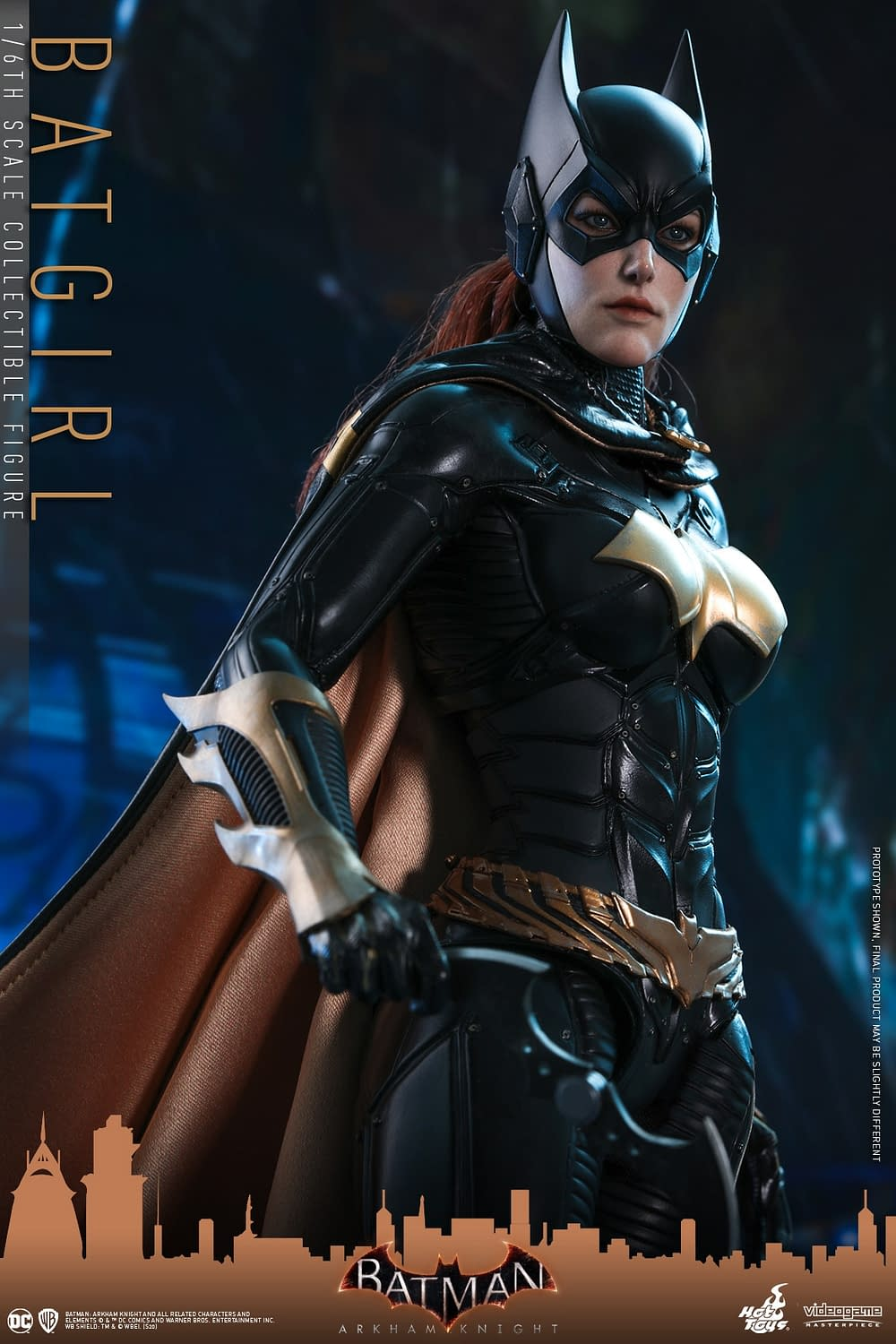 Batgirl Takes on Gotham with New Hot Toys Figure