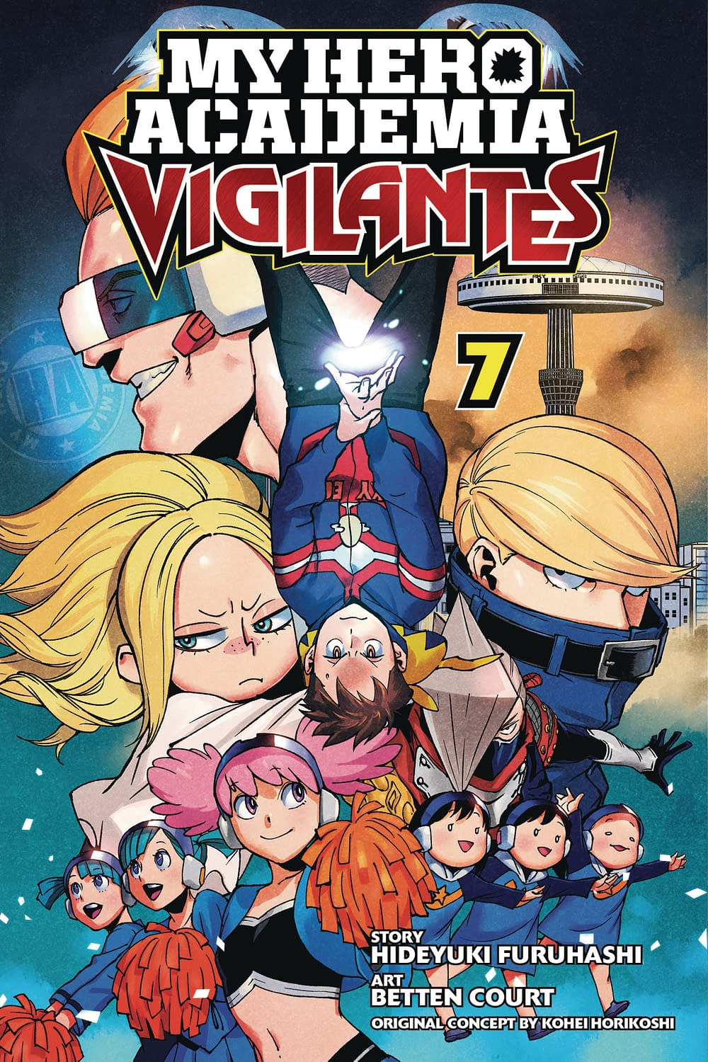 MY HERO ACADEMIA VIGILANTES GN VOL 07