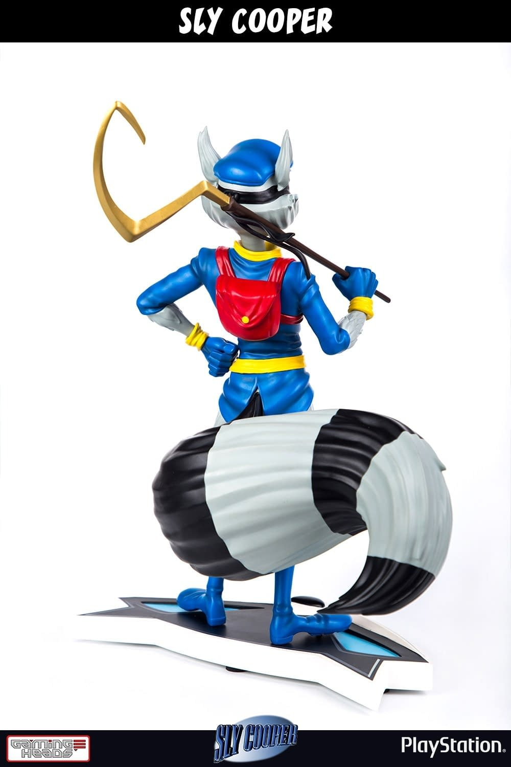 Sly Cooper Gaming Heads Statue