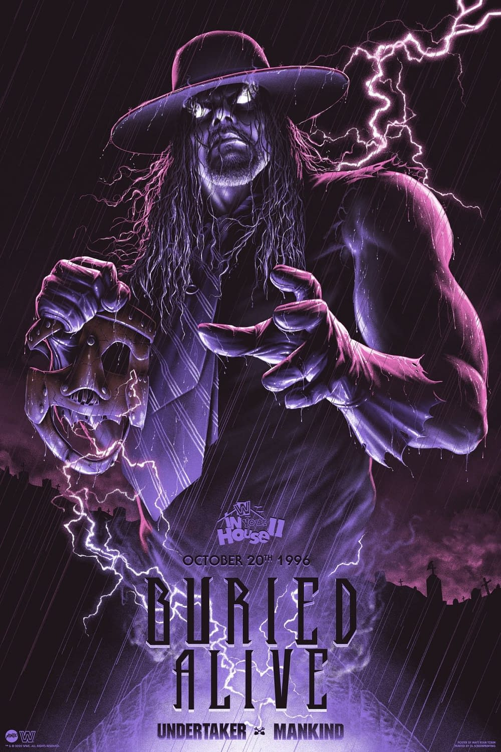 Mondo Pays Tribute To The Undertaker With New Prints