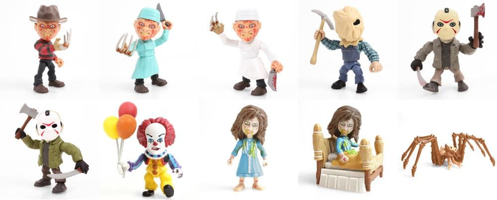 WWE, Horror Vinyl Figures Coming This Summer from The Loyal Subjects