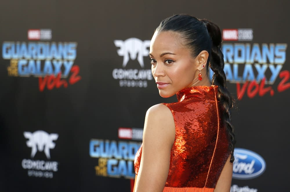 [SPOILERS] Zoe Saldana Talks About How She Found Out About Gamora in Avengers: Infinity War