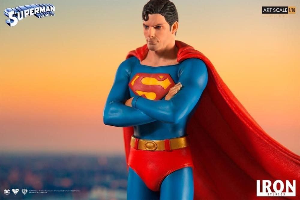 Iron Studios Superman Statue 7