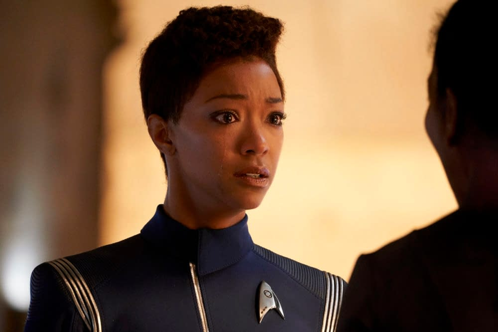 """Star Trek: Discovery/Doctor Who Crossover Christmas Special"": The Gift That Keeps on Giving [OPINION]"