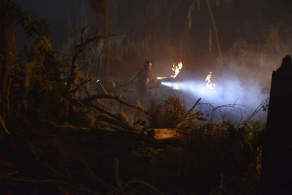 'Swamp Thing': Steve Niles, Mark Millar Dig Derek Mears' Swampy Look