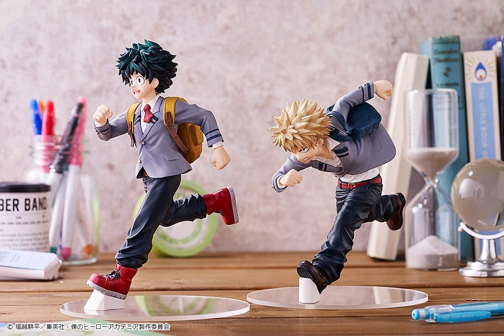 """""""My Hero Academia"""" Students Are Ready For Class With Good Smile"""