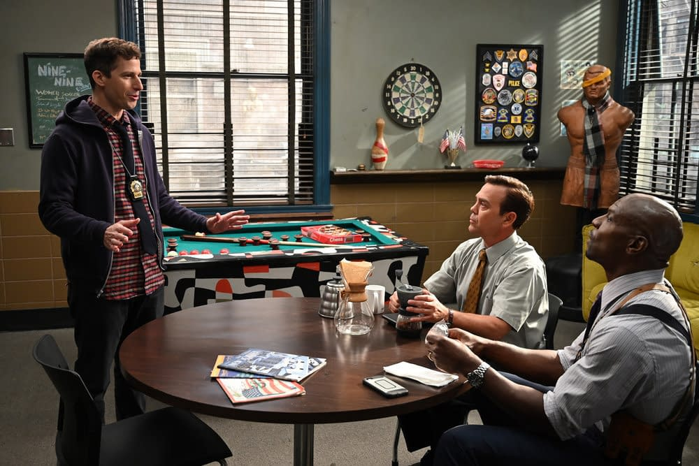 """Brooklyn Nine-Nine"" Season 7 ""Ding Dong"": Holt Catches Fire in Twisty, Fun Episode [SPOILER REVIEW]"