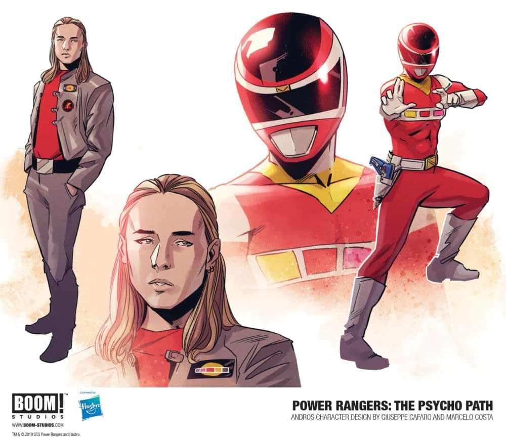 Psycho Rangers Star in New Power Rangers OGN