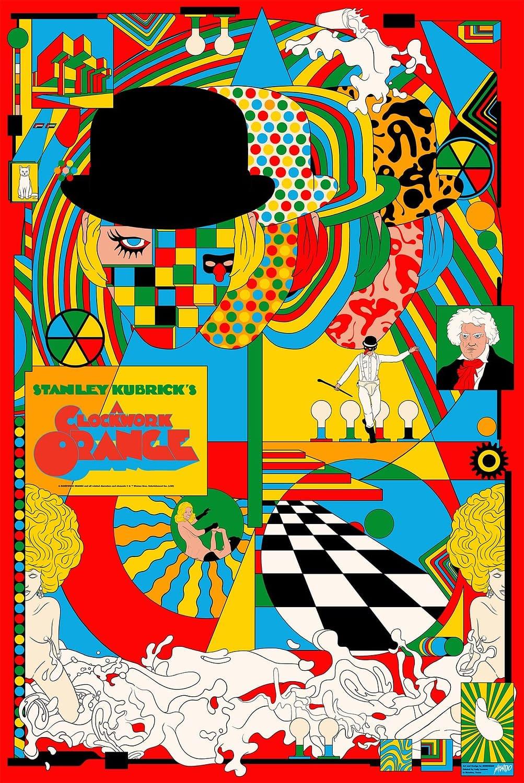 Nouvelles affiches Mondo pour Clockwork Orange, Scoob !, et Possesor