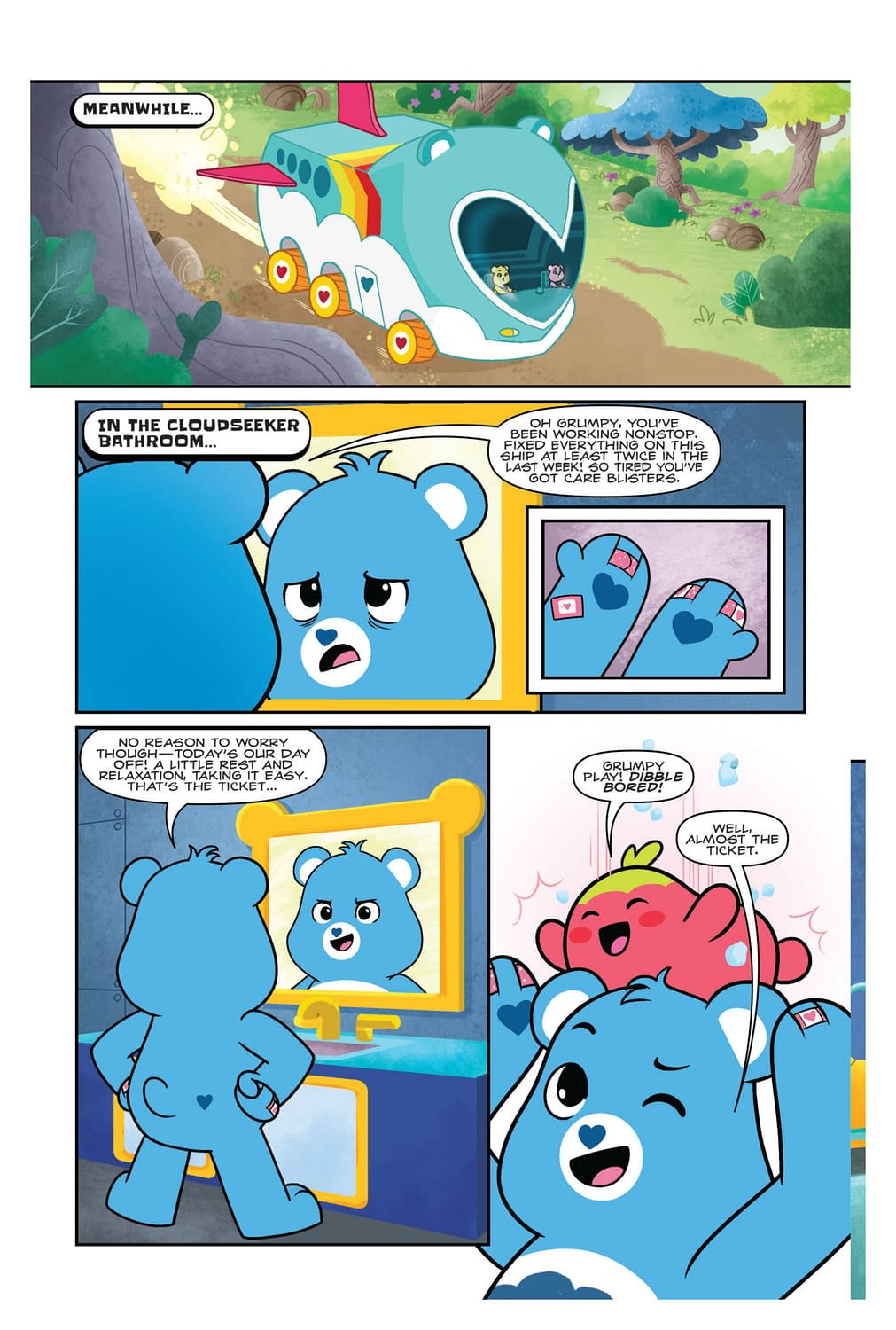 Bears vs. Climate Change and Capitalism in Care Bears: Unlock the Magic #1 (Preview)