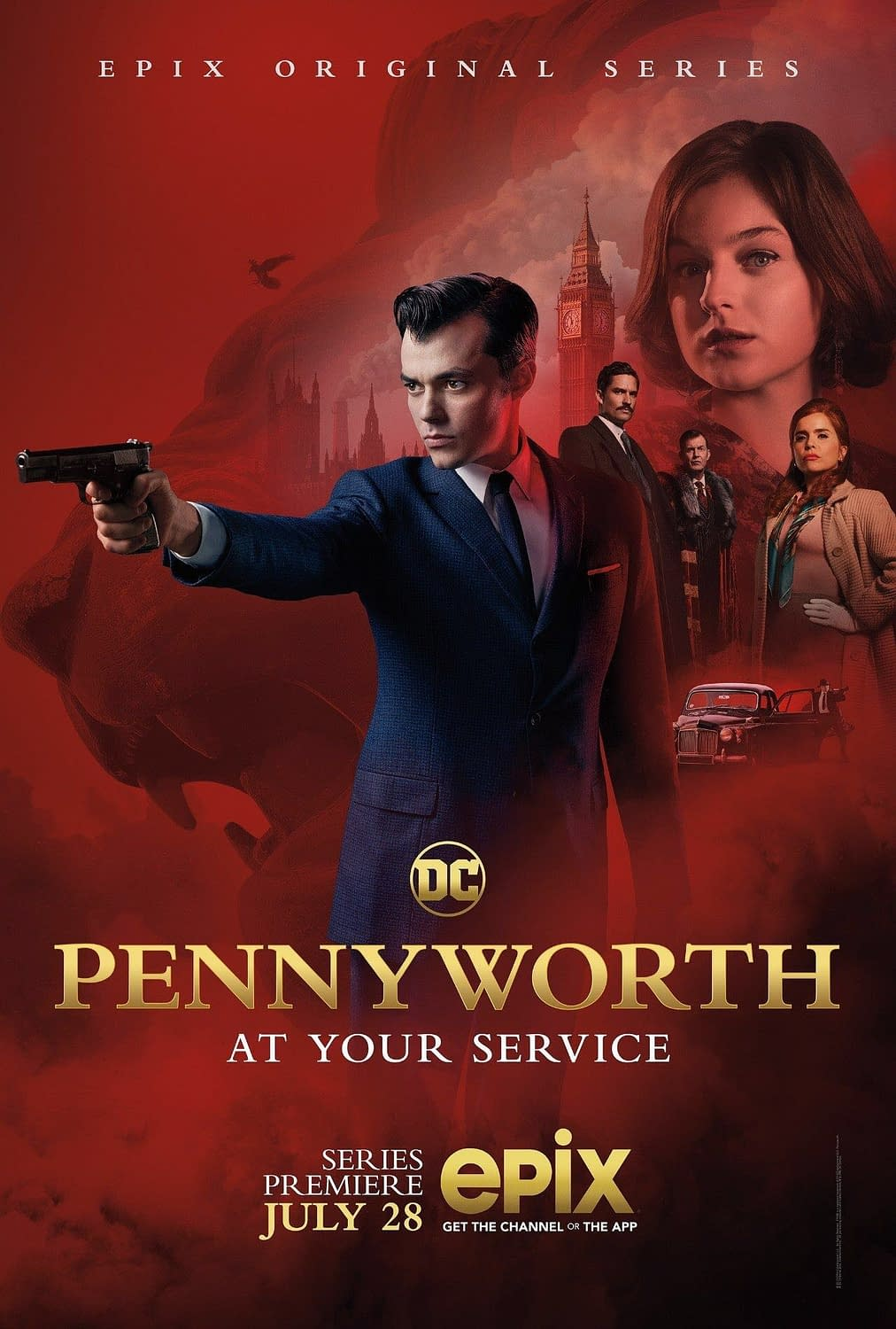 """""""Pennyworth"""" Drops New Trailer and Snazzy Poster"""