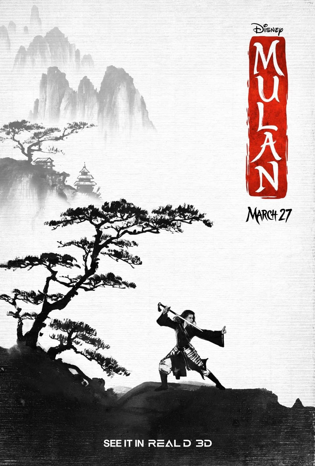 """""""Mulan"""": 3 New Posters and a New TV Spot as Tickets Go On Sale"""