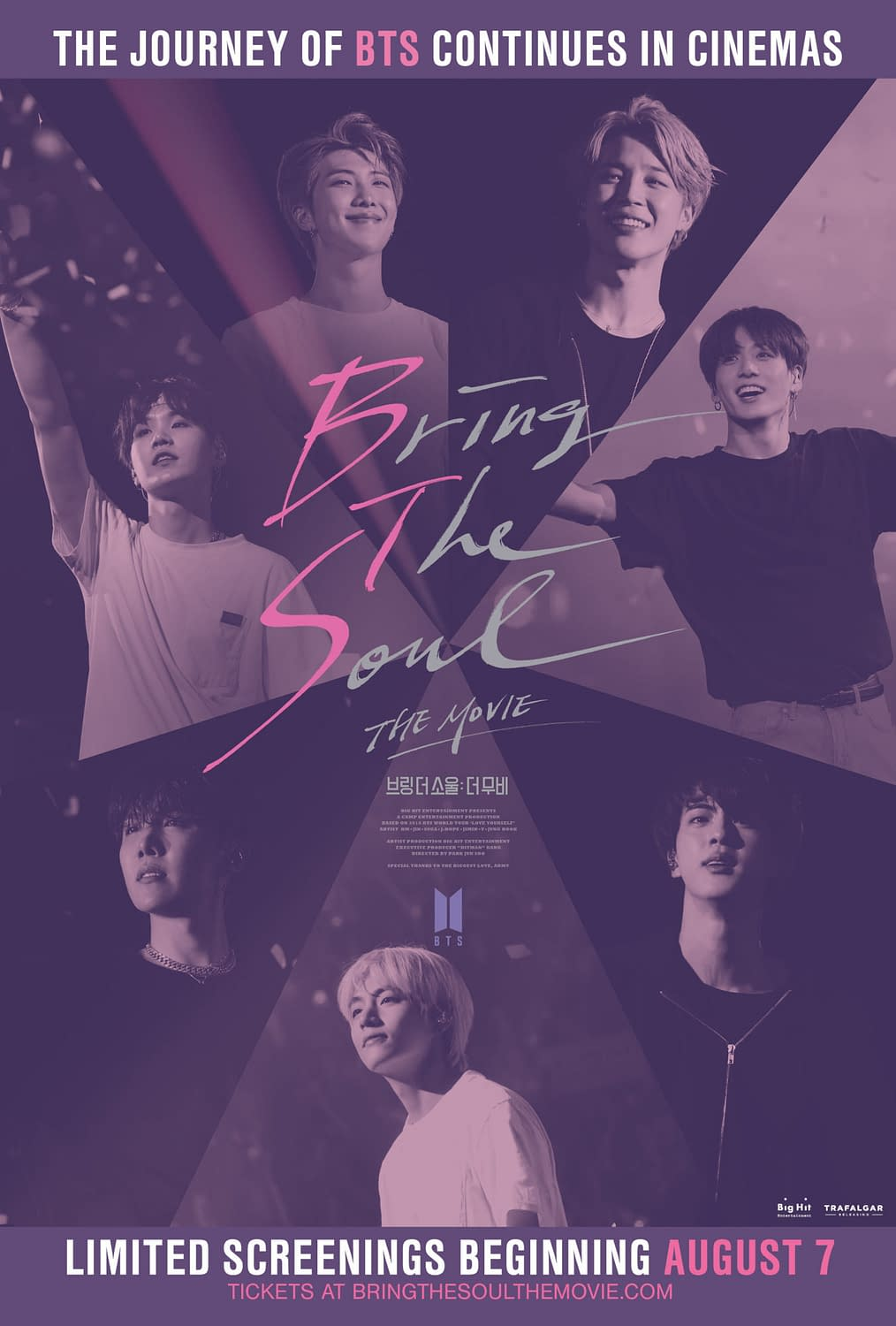 """BTS Knocks Out 24 Concerts in 12 Cities: """"Bring the Soul: The Movie"""" [OFFICIAL TRAILER]"""