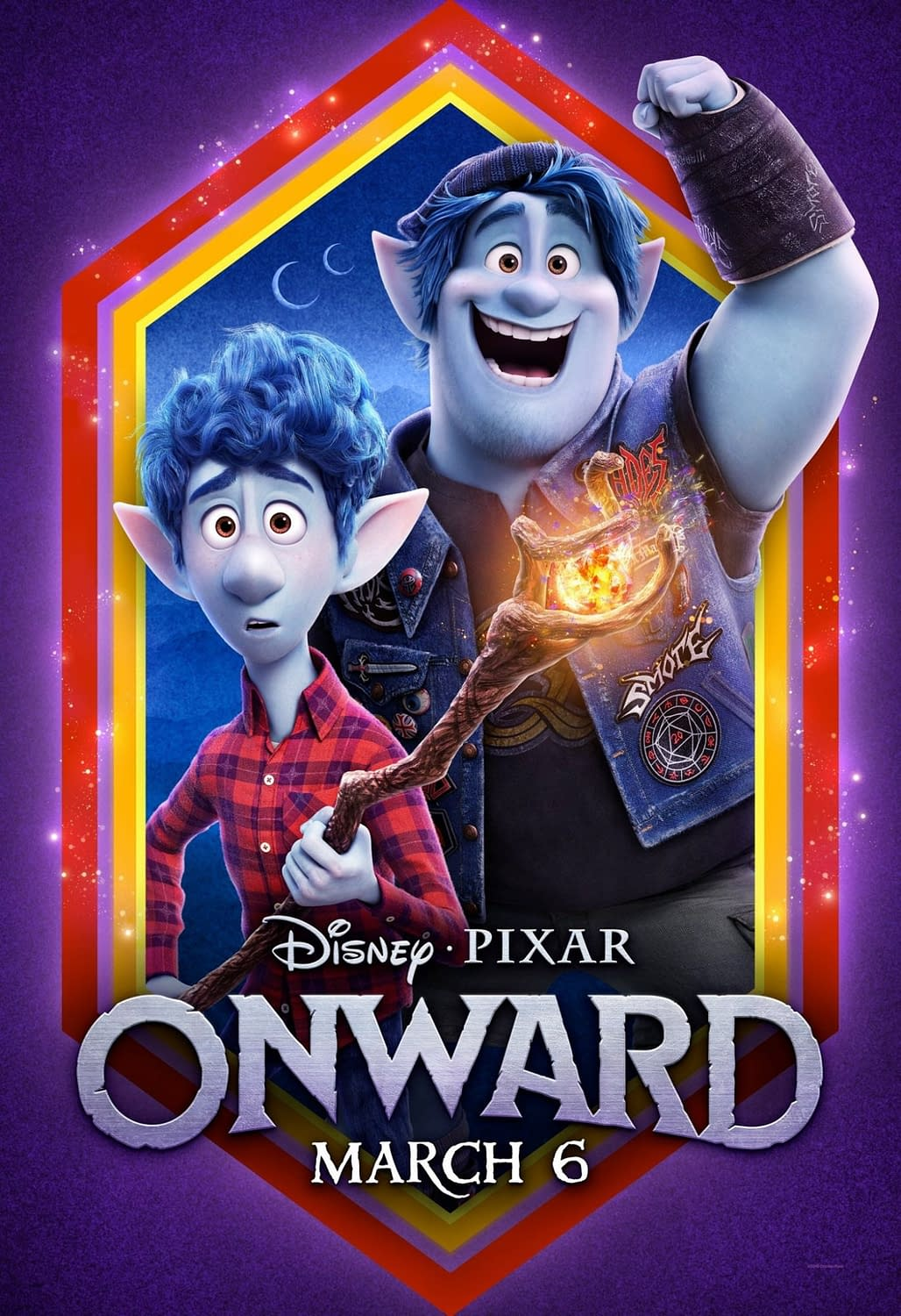 "New Trailer and 5 New Posters for Pixar's ""Onward"""
