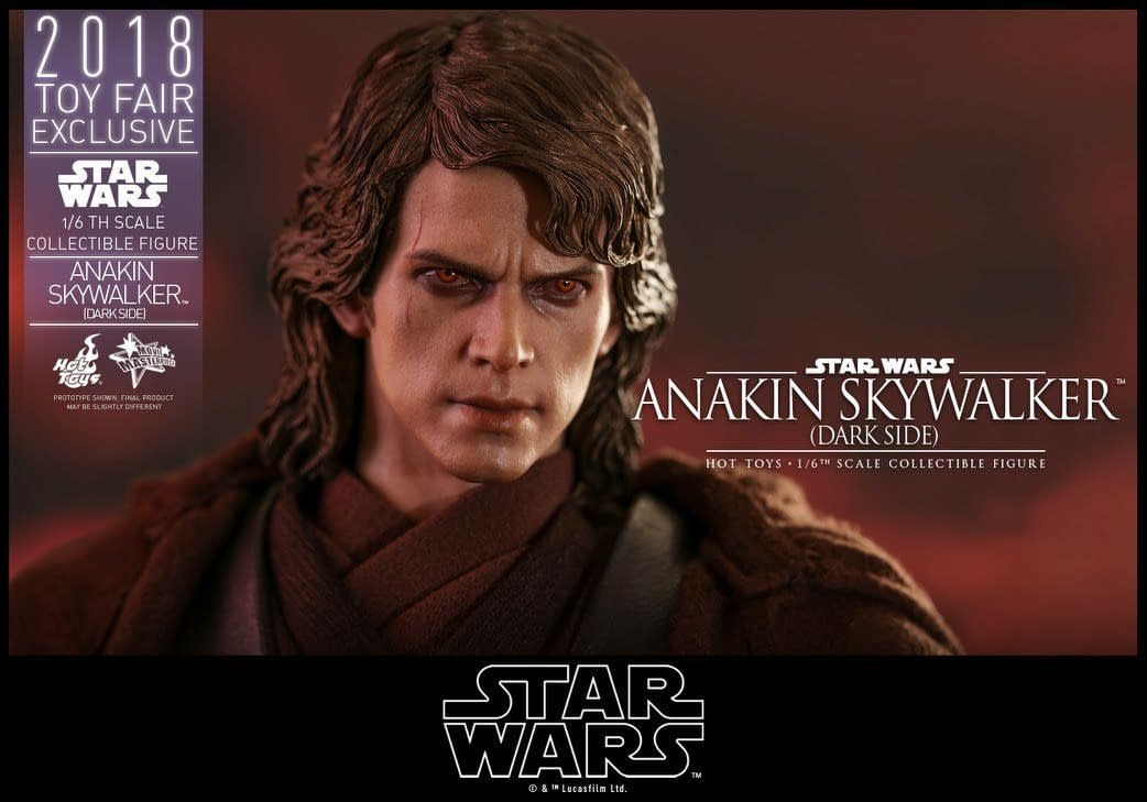 Hot Toys SDCC Exclusive Anakin Skywalker 3
