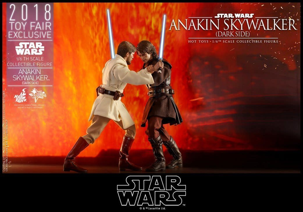 Hot Toys SDCC Exclusive Anakin Skywalker 9