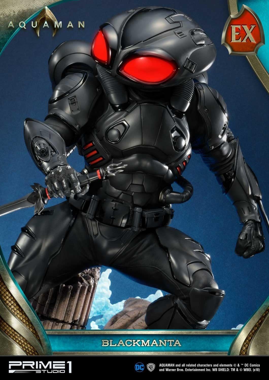 Aquaman Black Manta Prime 1 Studio Statue 12