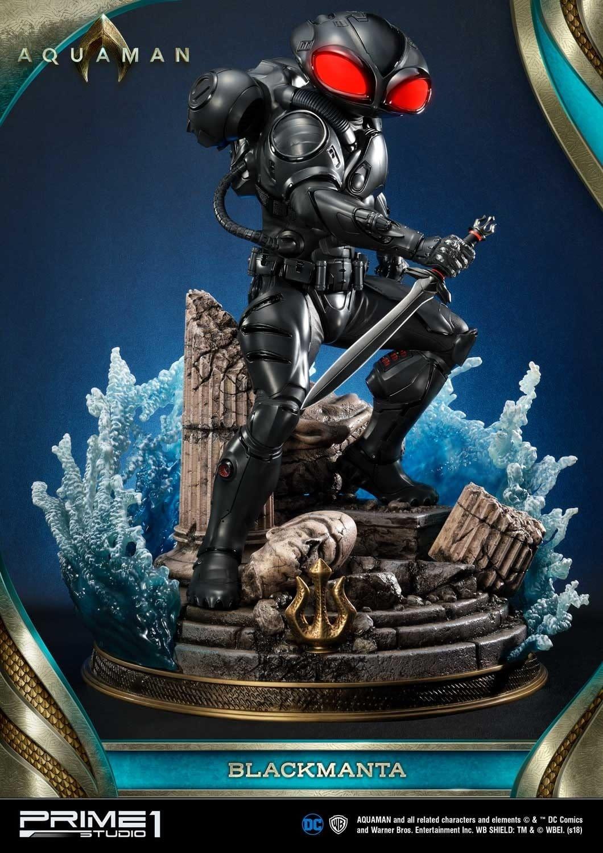 Aquaman Black Manta Prime 1 Studio Statue 2