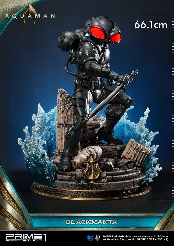 Aquaman Black Manta Prime 1 Studio Statue 4
