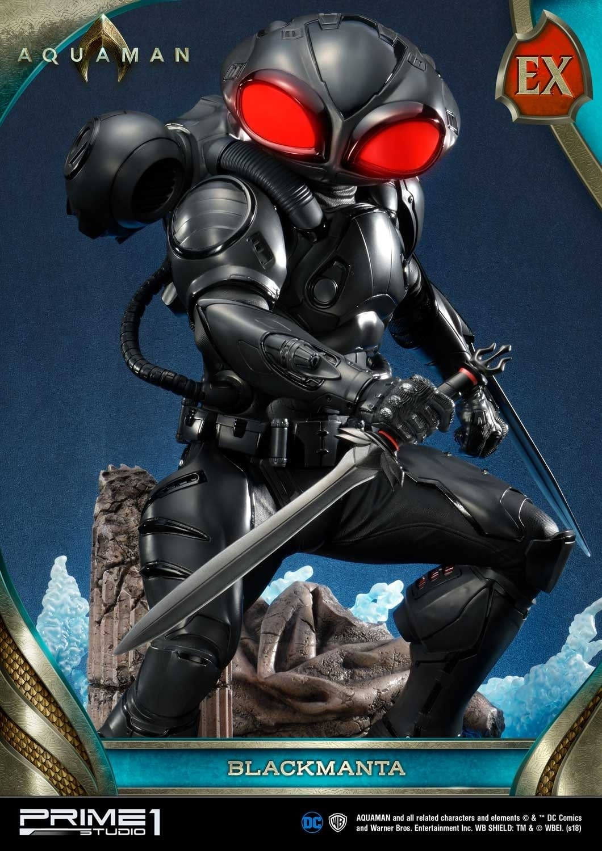 Aquaman Black Manta Prime 1 Studio Statue 5