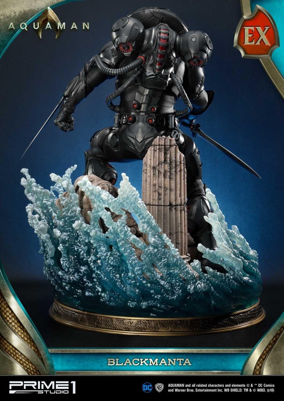 Aquaman Black Manta Prime 1 Studio Statue 7
