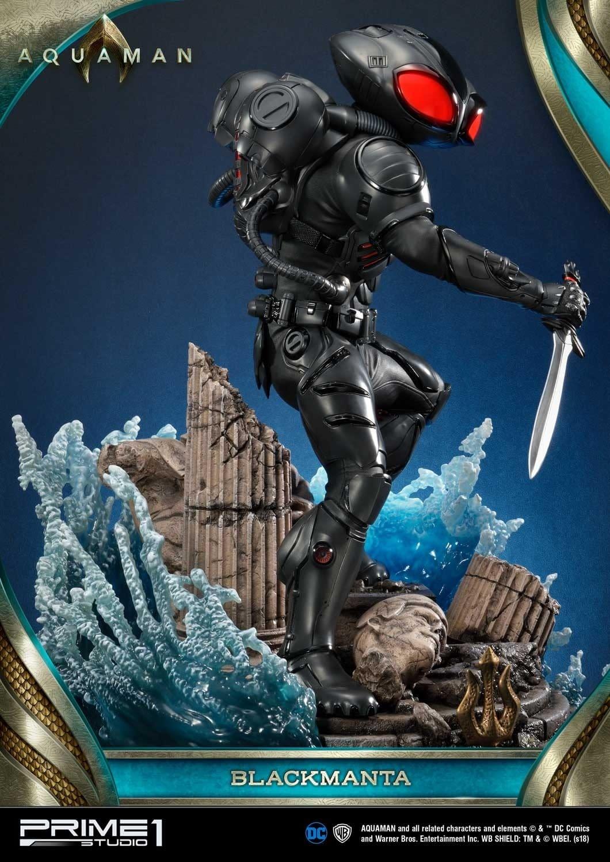 Aquaman Black Manta Prime 1 Studio Statue 8