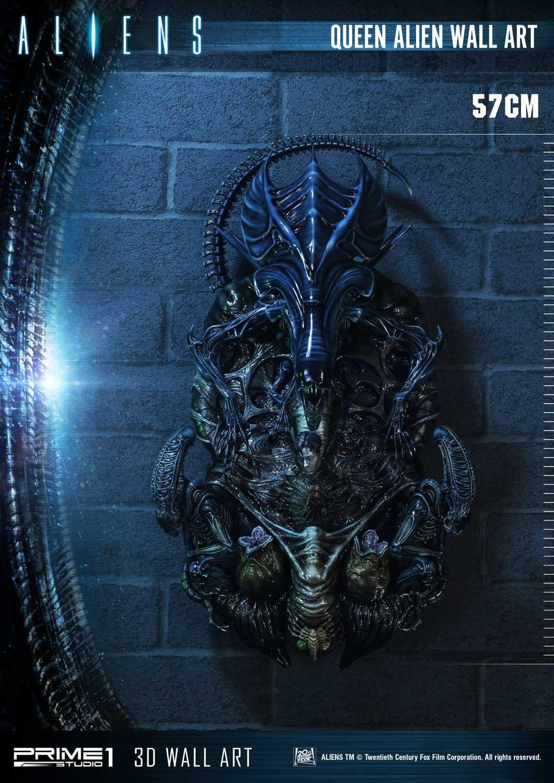 Alien Queen Wall Art Unveiled by Prime 1 Studio