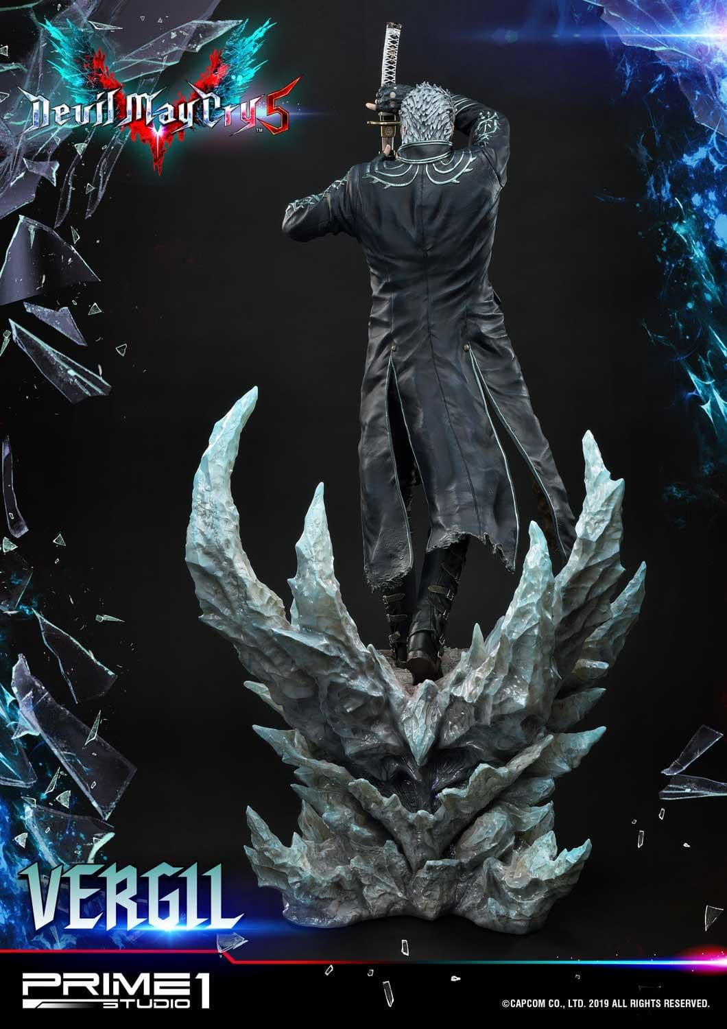 """""""Devil May Cry 5"""" Vergil Gets New Statue From Prime 1 Studio"""