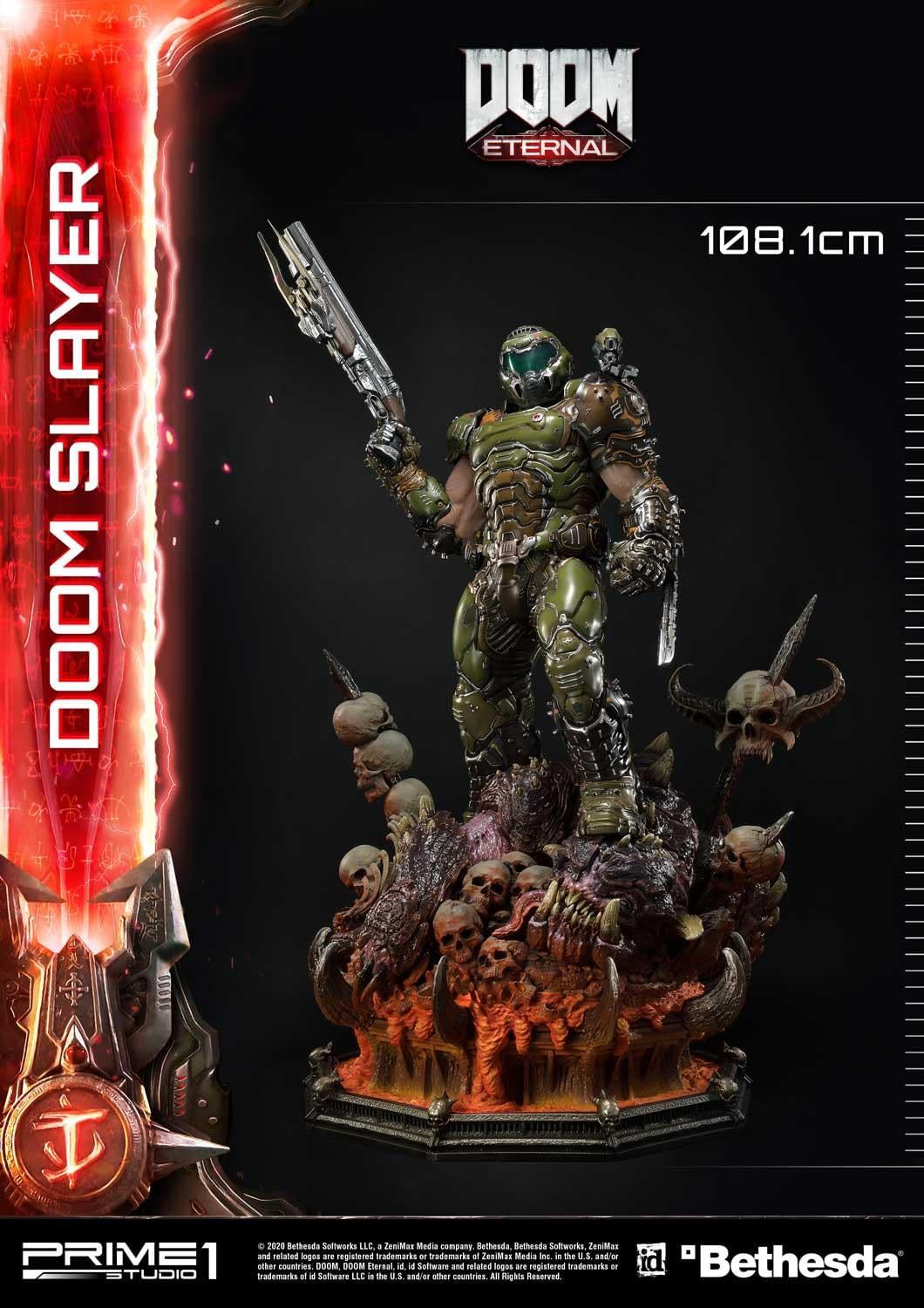 Doom Slayer is Ready for Hell in New Prime 1 Studio Statue