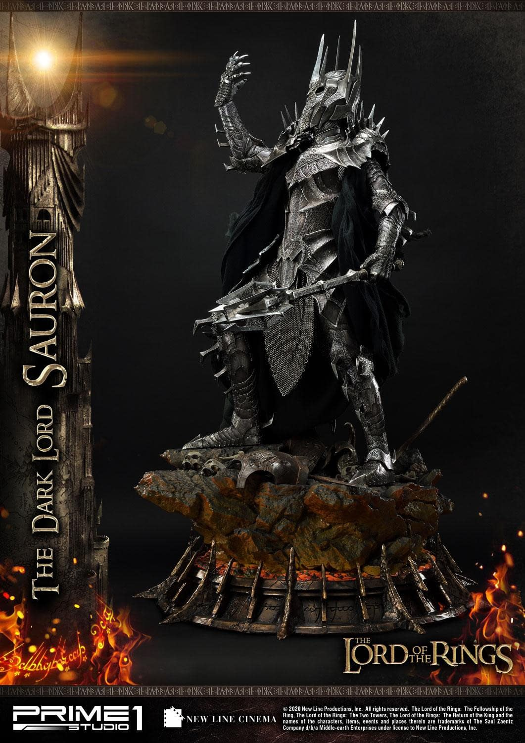 """""""The Lord of the Rings"""" Sauron Has Returned with Prime 1 Studio"""