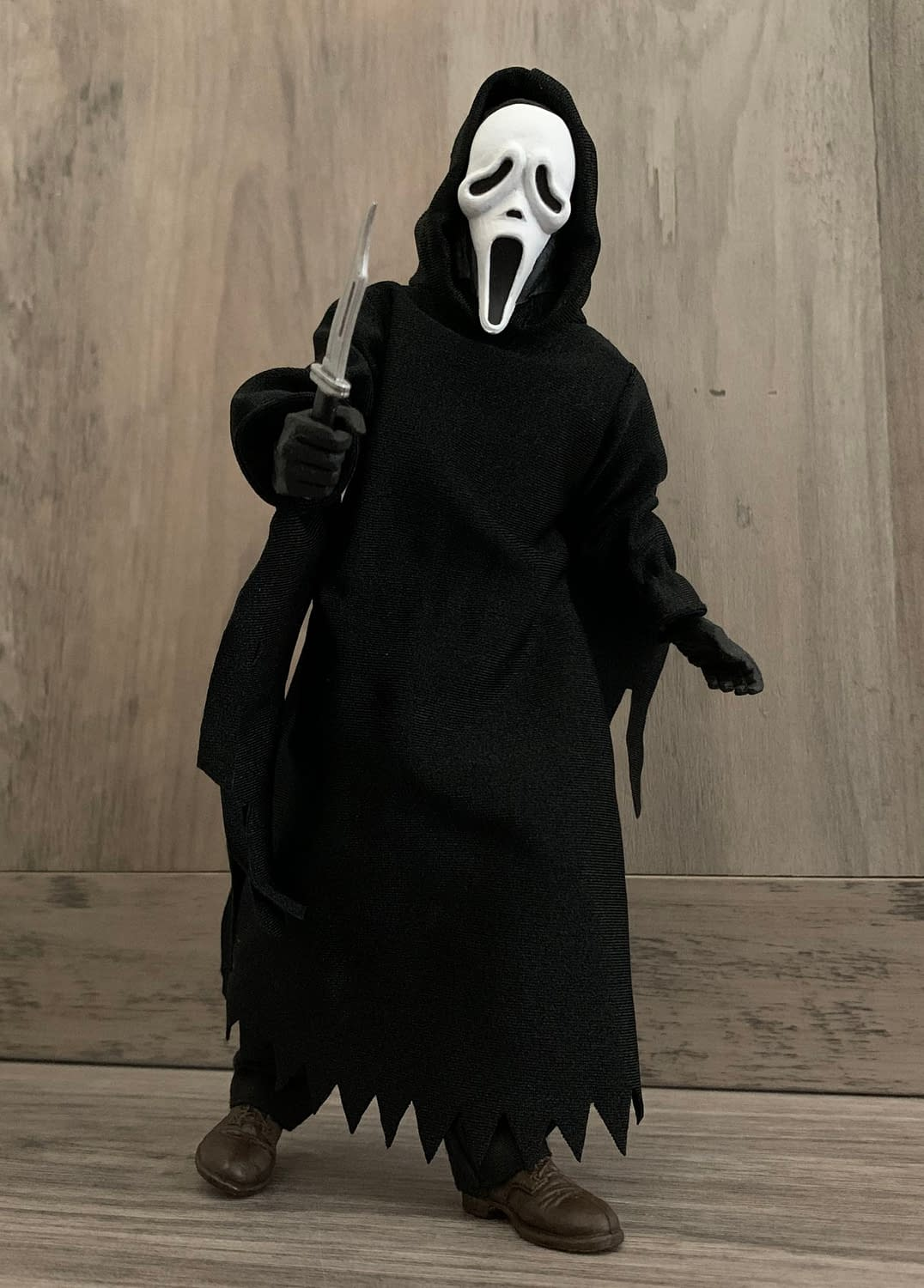 Let's Take A Look At NECA's New Clothed Scream Ghost Face Figure