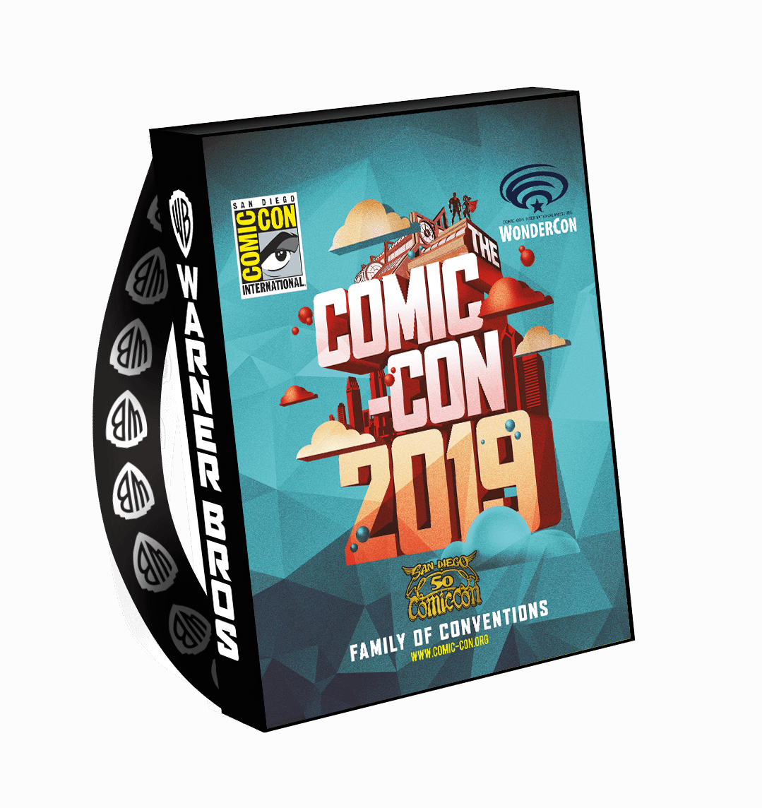 """""""Watchmen,"""" """"Supernatural,"""" """"Arrow"""" and More: 23 Official SDCC Bag Designs Offer Insights [IMAGES]"""