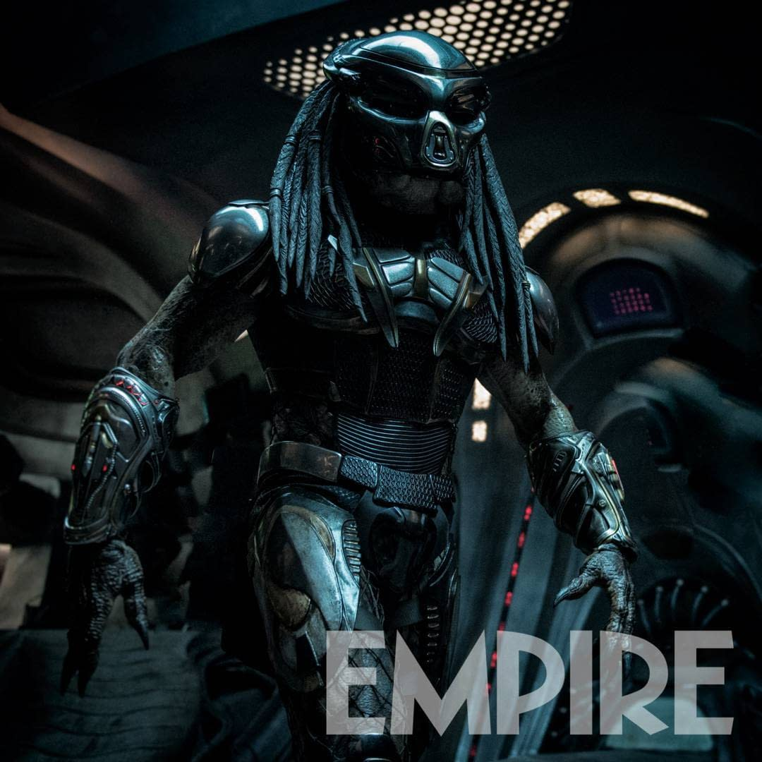 2 New Images from The Predator Shows Off the New Armor