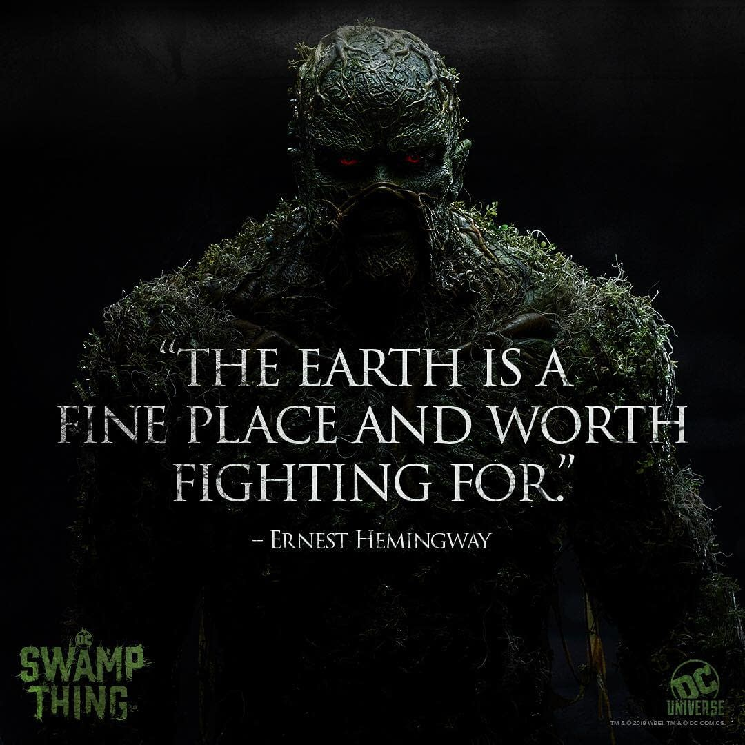 'Swamp Thing': Not Easy Being Green? Tell That to The Floronic Man