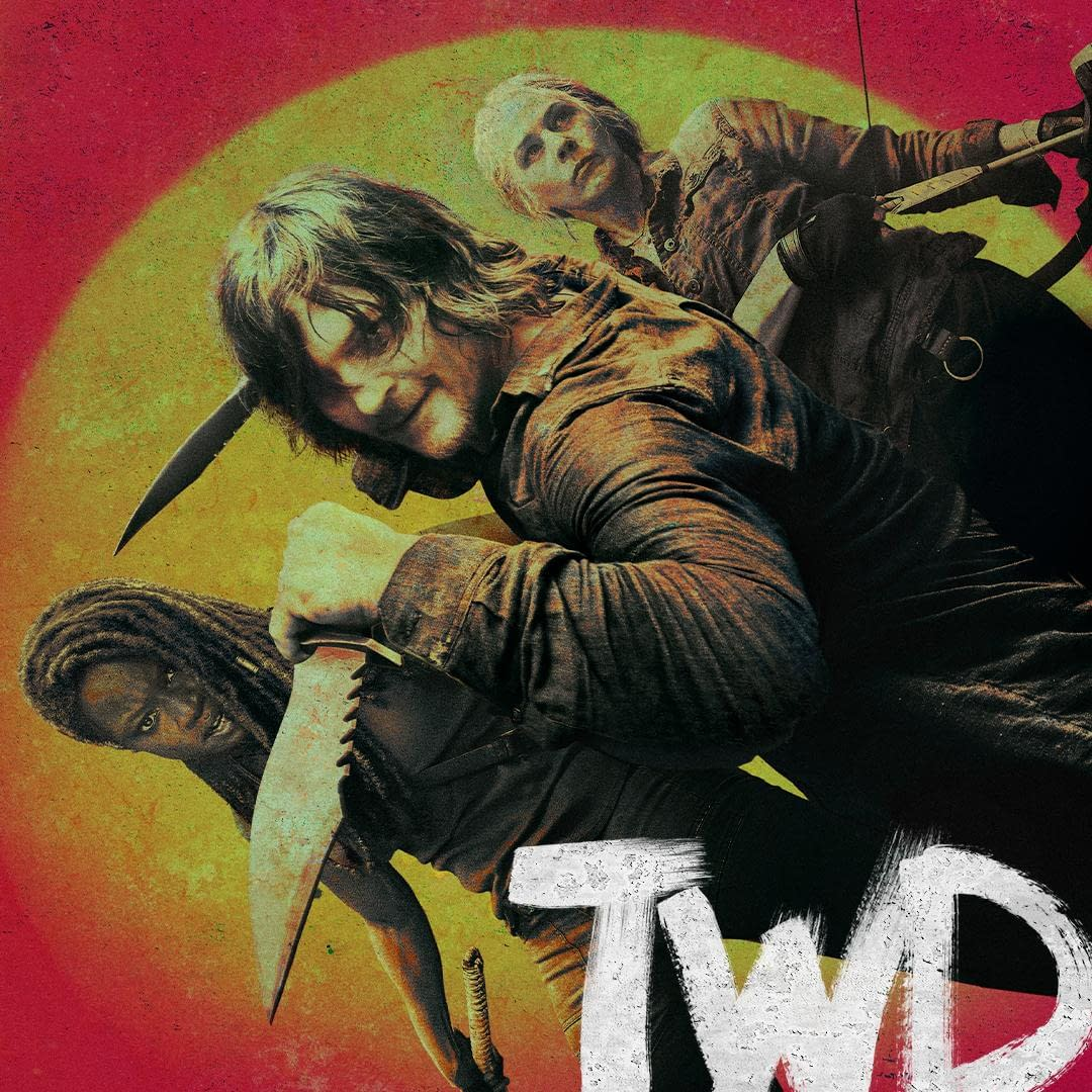 """The Walking Dead"" Season 10: Is the Sun Rising or Setting for Michonne, Carol & Daryl? [OFFICIAL ARTWORK]"