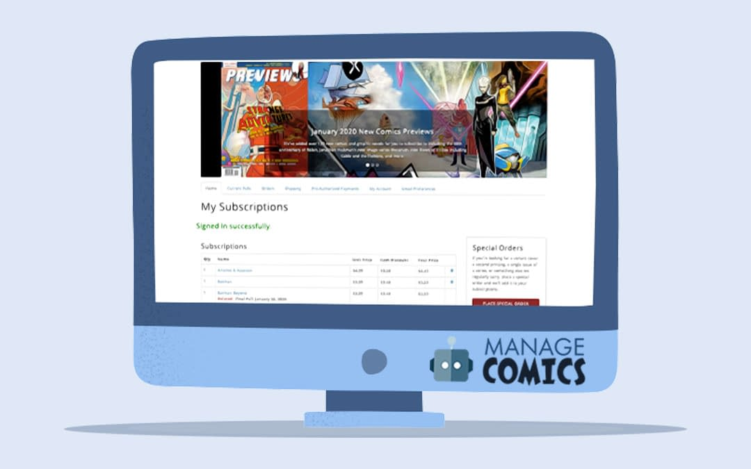 Manage Comics Suspends Subscription Fees For Comic Shops, Challenges Diamond To Match Them