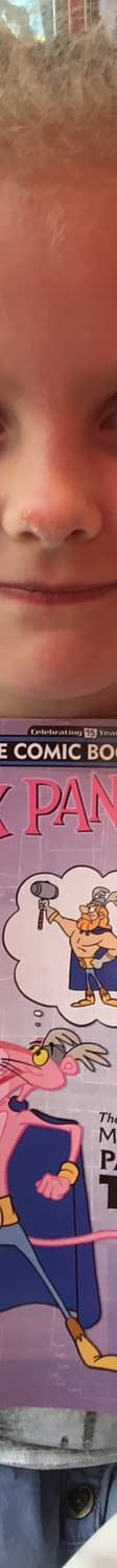 Pink Panther The First To Go On Free Comic Book Day&#8230.