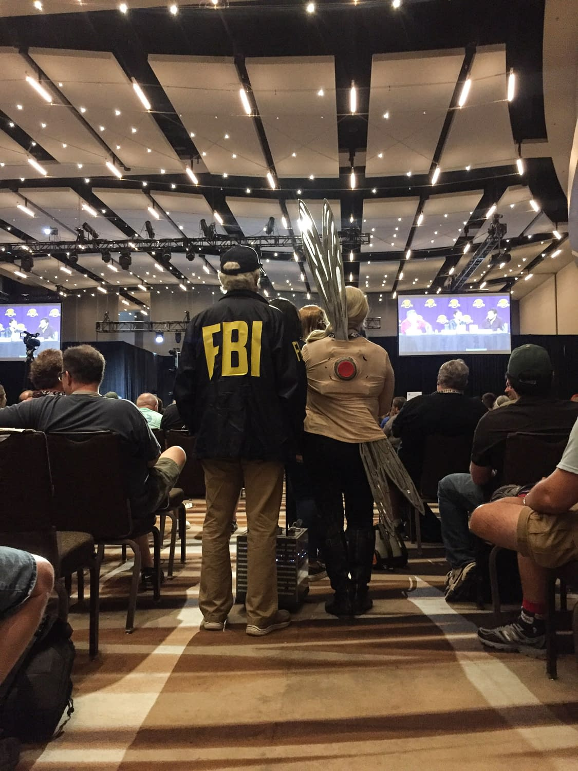 Pym, van Dyne Family Reunion with Evangeline Lilly at Dragon Con