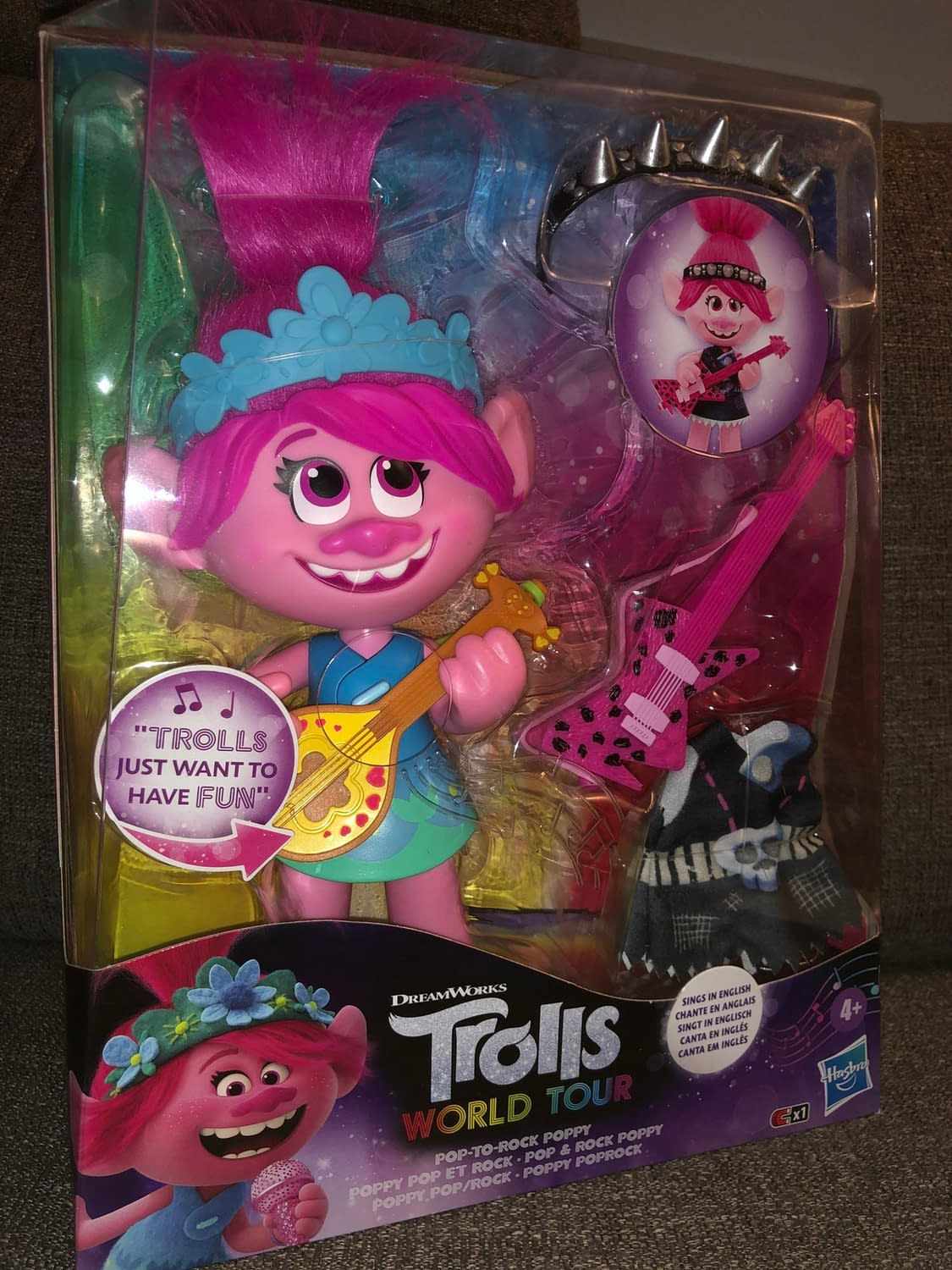 """Trolls: World Tour"" Is Here to Rock Out Thanks to Hasbro [Review]"