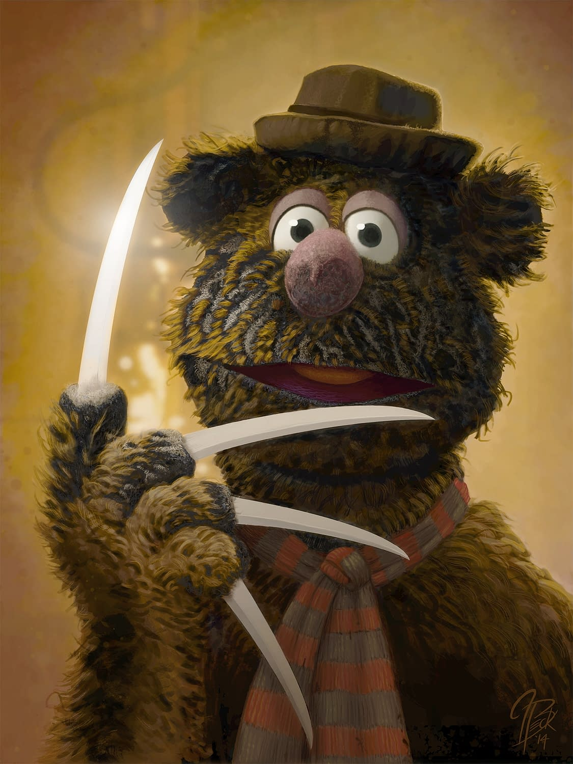 Horror Icons + The Muppets = The Only Thing You Need To See Today