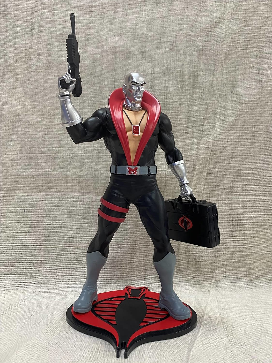 G.I. Joe Reigns Supreme with New Cobra Statues from PCS Collectibles