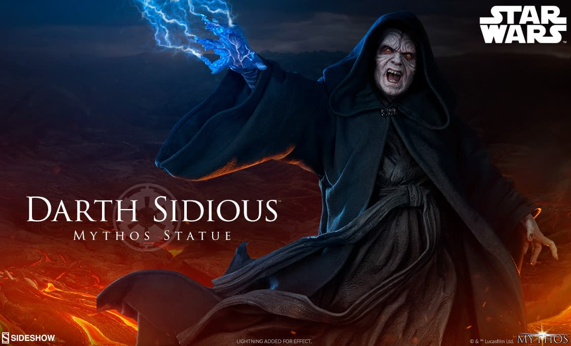 Darth Sidous Is Back with Newest Sideshow Collectibles Statue [First Look]