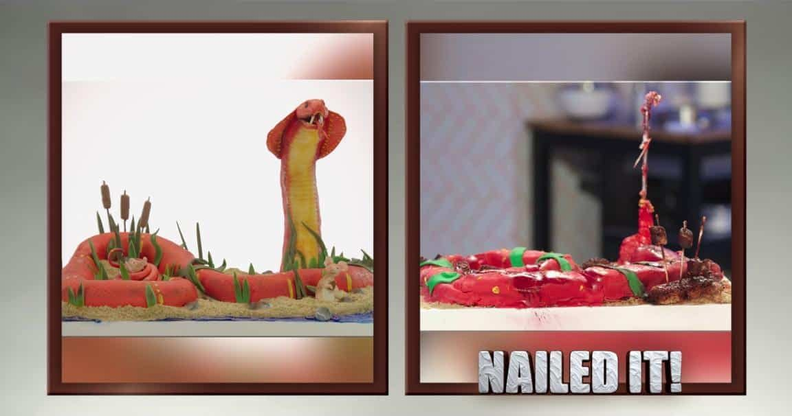 Nailed It! Season 2: Cobra Cakes, Humpty Dumpty 'Roid Rage and More! (BC REWIND)