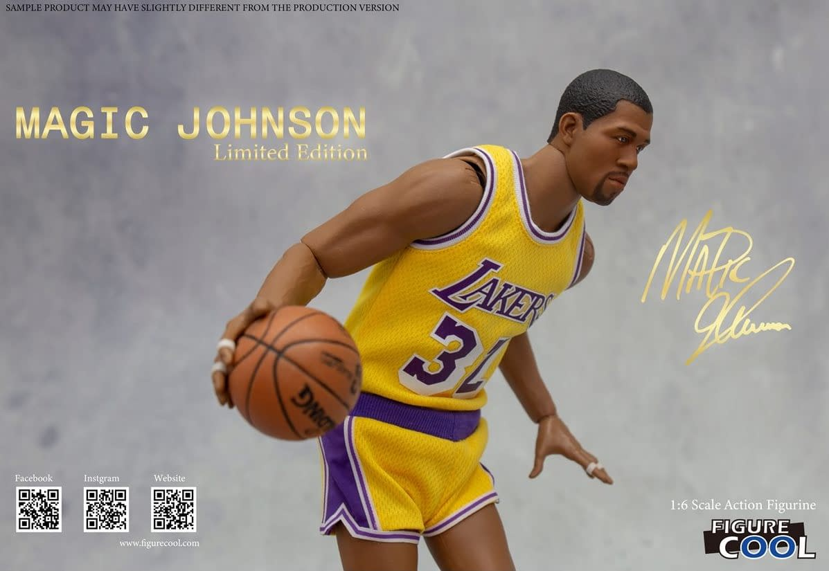 Magic Johnson Gets a Throwback with New Figure Cool Collectible