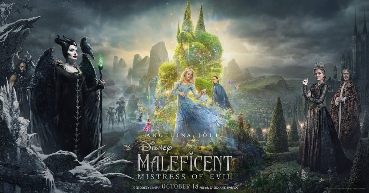 Maleficent: Mistress of Evil New Image is GORGEOUS