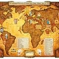 Rick Olney Sells Indiana Jones World Map Without Matt Busch Or Lucasfilms Permission