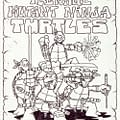 First Drawing Of The Teenage Mutant Ninja Turtles By Kevin Eastman And Peter Laird Sells For $71700