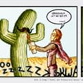 Kicking With Cactus #7 by Chad Hindahl
